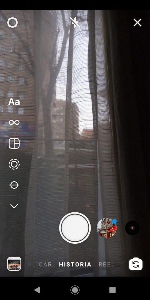Segundo paso para hacer un directo en Instagram desde iPhone o Android