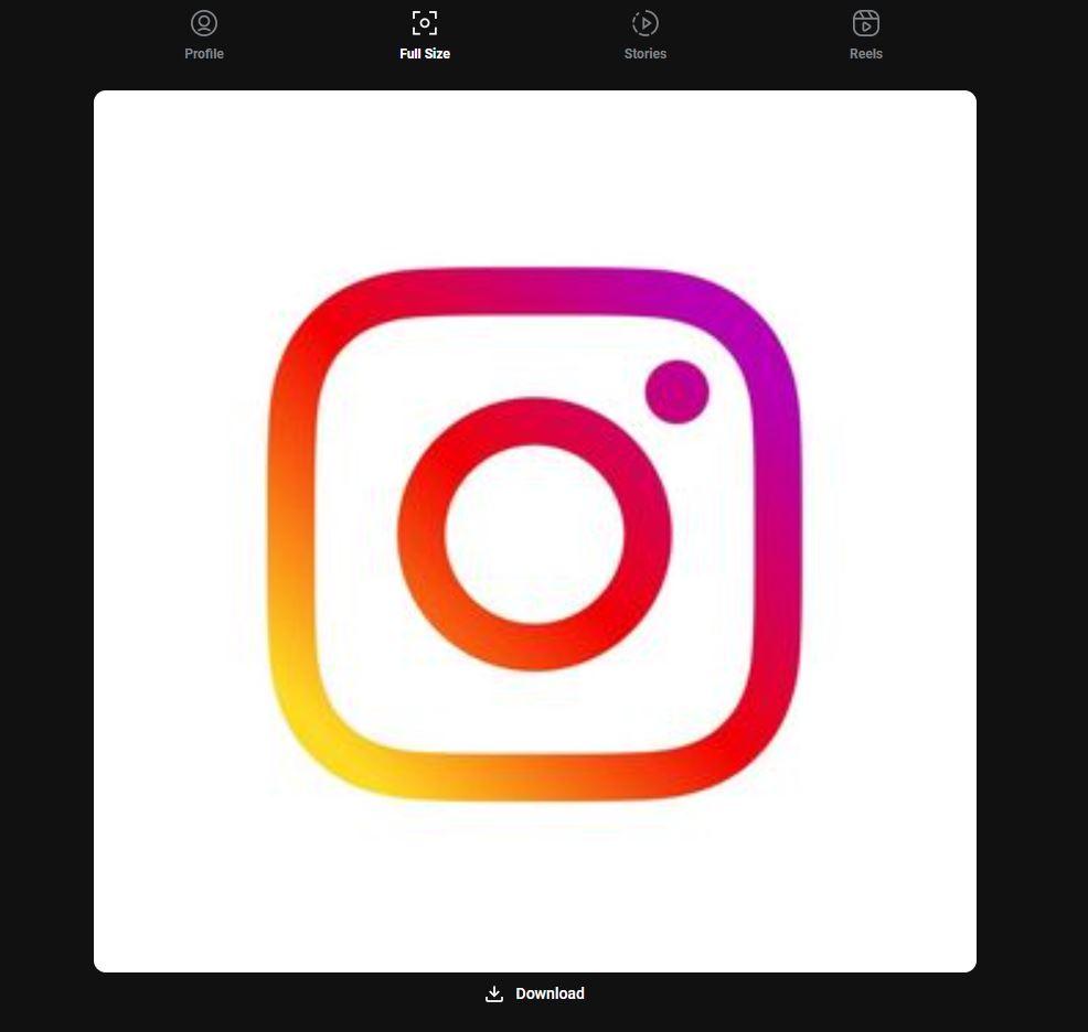 Cuarto paso para descargar fotos de perfil desde un navegador web