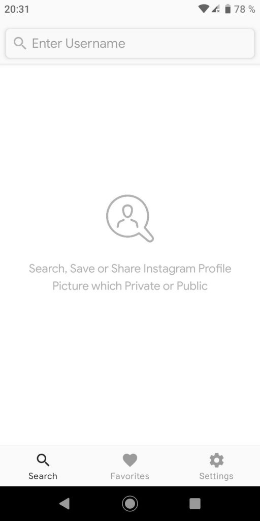 Quinto paso para descargar fotos de perfil en Android