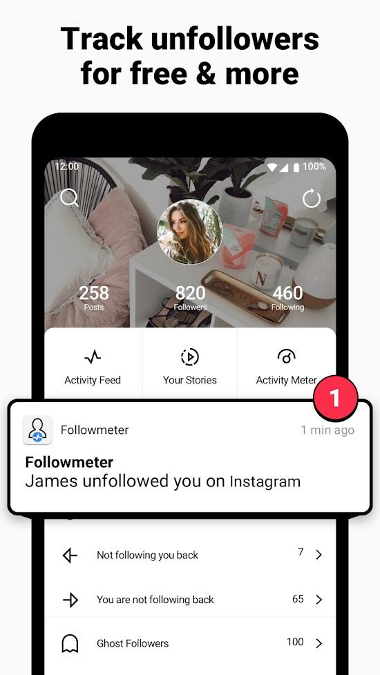 Follow Meter, app para ver quién no me sigue en Instagram